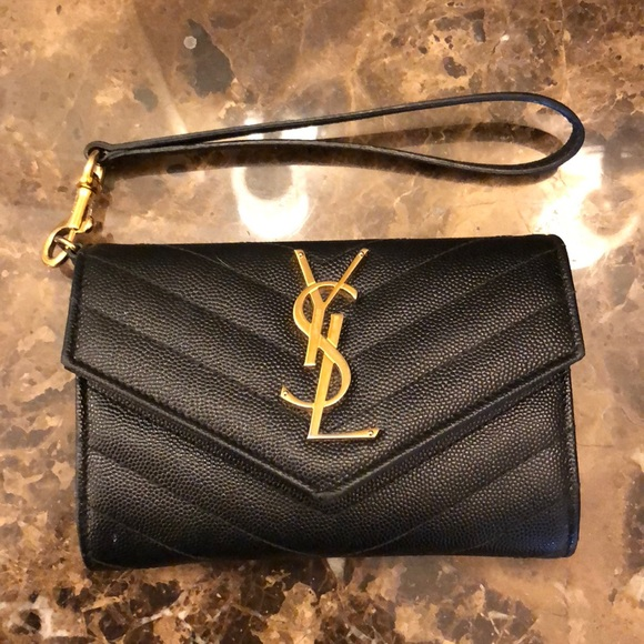da8b3b177ea YSL Saint Laurent wristlet wallet mini purse. M_5a3427a8d39ca2252500fe95